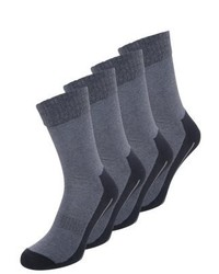 camano 4 Pack Sports Socks Navy