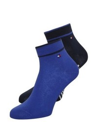 Tommy Hilfiger Quarter 2 Pack Socks Dark Navy