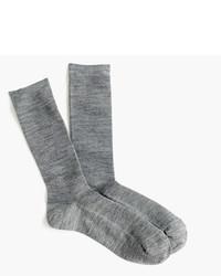 J.Crew Ribbed Trouser Socks