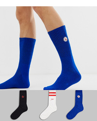 New Look Socks With La Embroidery 3 Pack