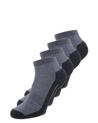 camano Sport 4 Pack Sports Socks Navy