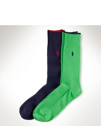 Polo Ralph Lauren Tipped Trouser Sock 2 Pack
