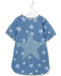 Stella McCartney Kids Bess Star Print Denim Dress