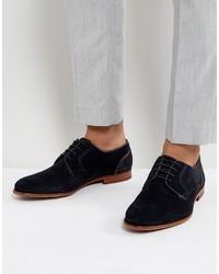 Iront suede derby shoes in navy medium 4418742