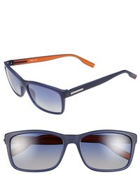BOSS 57mm Polarized Retro Sunglasses