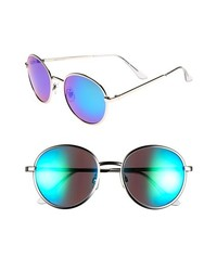 Fantas Eyes Fe Ny Aviator Sunglasses Silver Blue One Size