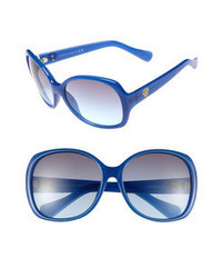 Vince Camuto Oversized Sunglasses Blue One Size