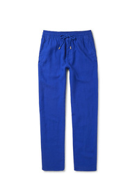 Vilebrequin Pacha Linen Drawstring Trousers