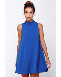Blue Swing Dress