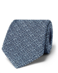 Ermenegildo Zegna 8cm Mlange Silk Blend Tie