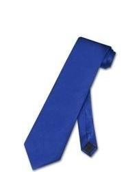 Antonio Ricci Necktie Solid Royal Blue Neck Tie