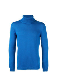 Blue Turtleneck