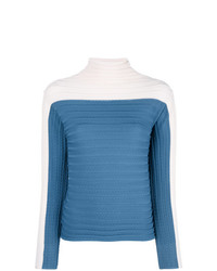 Molli Bicolour Turtleneck Jumper