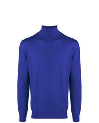 Cruciani Turtleneck Fine Knit Sweater