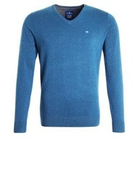 Jumper hidden blue melange medium 4158766