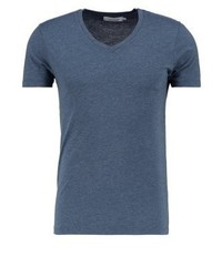 Samsøe & Samsøe Marian Basic T Shirt Majolica Blue Melange