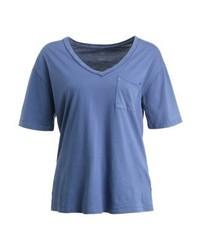 Gap Vintage Basic T Shirt Chrome Blue