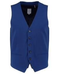 Lindbergh Suit Waistcoat Blue