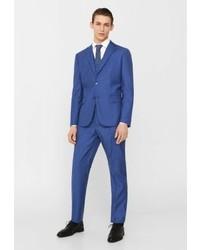 Suit waistcoat blue medium 4272846