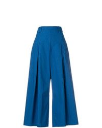 Etro Cropped Wide Leg Trousers