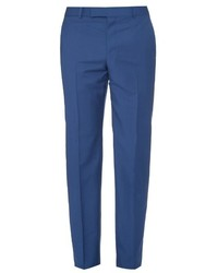 Mid rise wool and mohair blend trousers medium 469075
