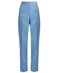 Rochas Wide Leg Wool Trousers