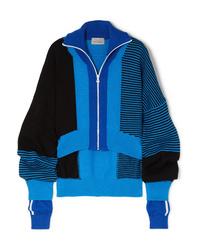 Preen by Thornton Bregazzi Gemma Ed Intarsia Wool Blend Sweater