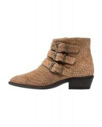 Neel cowboybiker boots taupe medium 4108038