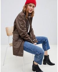 ASOS DESIGN Wax Look Utility Jacket