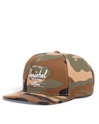 Herschel Supply Co Whaler Snapback Baseball Cap Black