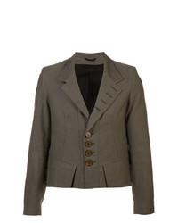 Ann Demeulemeester Cropped Blazer Jacket