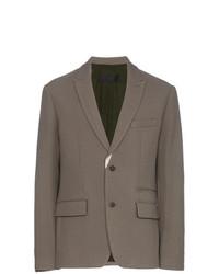 Haider Ackermann Single Breasted Wool Blazer