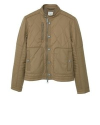 Mango Enri Light Jacket Tabacco Brown