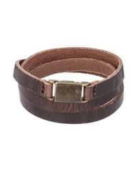 Bracelet dark brown medium 4137861