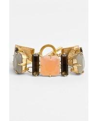 Vince Camuto Ethereal Statet Multi Stone Toggle Bracelet