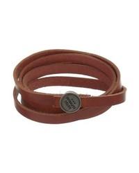 Spiral bracelet cognac medium 4137880