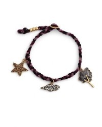 Marc Jacobs Tree Charm Friendship Bracelet