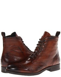 Brown brogue boots original 6703321