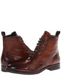 Brown Brogue Boots