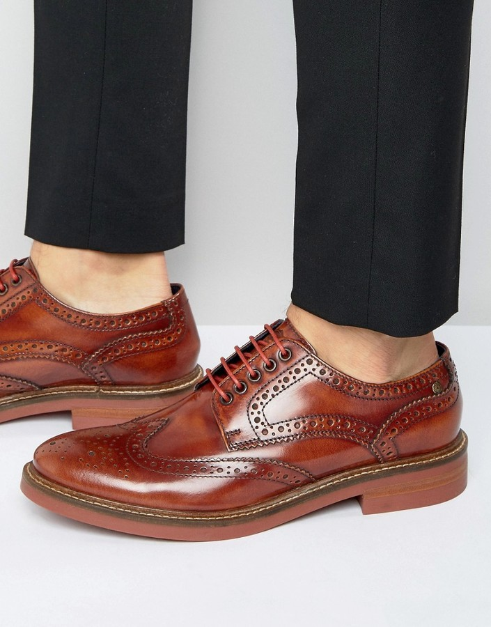 df4332298c406 Base London Woburn Hi Shine Brogues, £88 | Asos | Lookastic UK