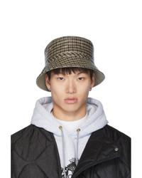 Brown Bucket Hat