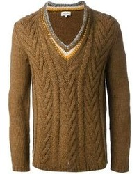 Long sleeve knitted sweater medium 93969