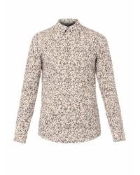 Camouflage print shirt medium 114255