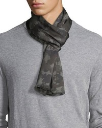 Brown Camouflage Scarf