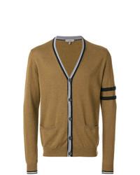 Lanvin Contrast Stripe Trimmed Cardigan
