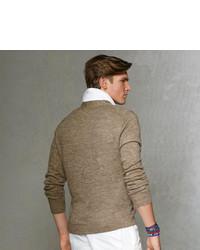 Polo Ralph Lauren V Neck Flap Pocket Cardigan