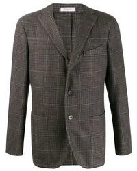 Boglioli Checked Pattern Blazer