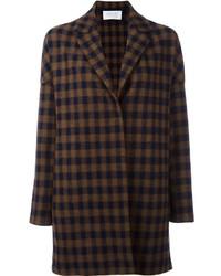 Harris Wharf London Checked Coat