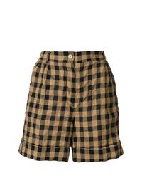 Aspesi Checkered Bermuda Shorts