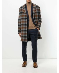 Lanvin Checked Coat